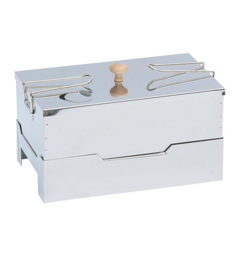 Fumoir de table à chaud inox
