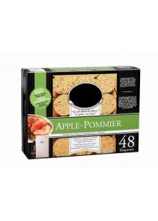 Galette de sciure pomme